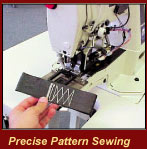 Precise Pattern Sewing